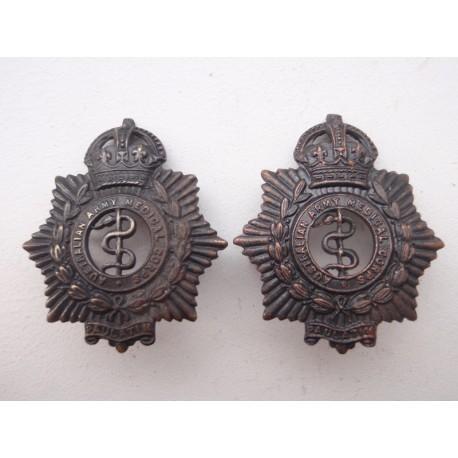 Australian Army Medical Corps Collar Badges