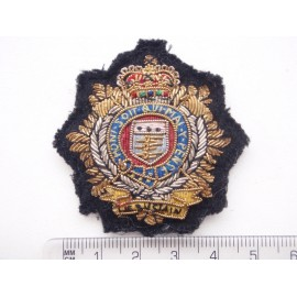 R.L.C Officers Bullion Beret Badge