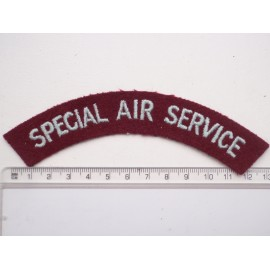Late 1940-50's Special Air Service (S.A.S) Title