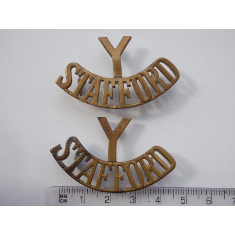Stafford Yeomanry Shoulder Titles