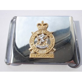 'C' Squadron Kent & County of London Yeomanry Belt Buckle