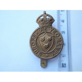 WW1/2 The Shropshire Yeomanry Cap Badge