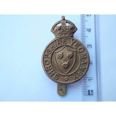 WW1/2 The Shropshire Yeomanry Cap Badge