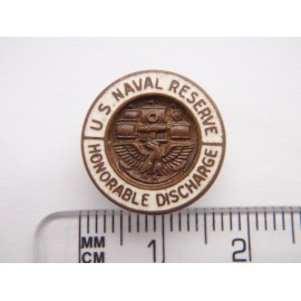 WW1/2 US Naval reserve Honourable Discharge Badge