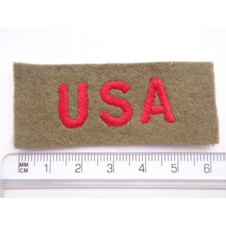 WW2 British Made U.S.A Nationality Titles