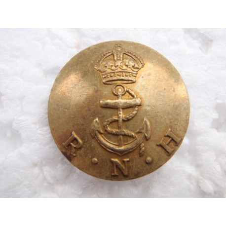Post 1902 R.N.H (Royal Naval Hospital) Button