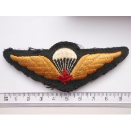 Post War Canadian Army Parachute Qualification Wings