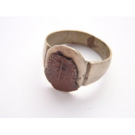 R.A.M.C Trench Art Ring