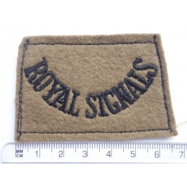 WW2 ROYAL SIGNALS Slip on Title
