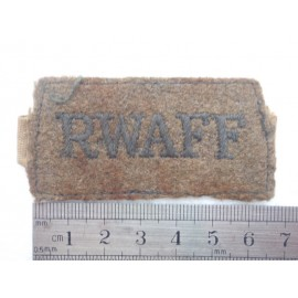 WW2 Slip on R.W.A.F.F Shoulder Title