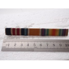 WW1 MM & Pair Ribbon Bar