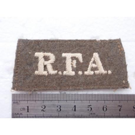 R.F.A Shoulder Slide