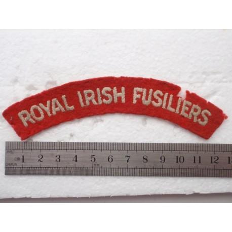 WW2 Royal Irish Fusiliers Shoulder Title