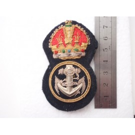 WW1/2 Royal Navy or Commonwealth P.O.Hat Badge