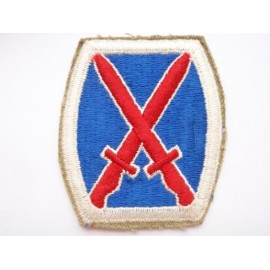 US Army 10th Infantry Division Patch