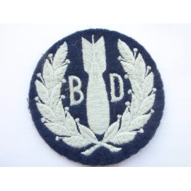 RAF Bomb Disposal Sleeve Badge
