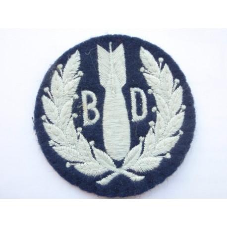 RAF Bomb Disposal Sleeve Badge