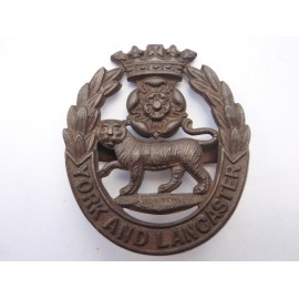 WW1/2 York & Lancaster Regt OSD Cap Badge
