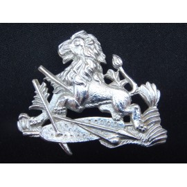Rhodesian British South African Police Helmet badge