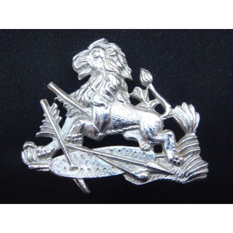 Rhodesian British South African Police Helmet badge