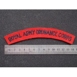 Royal Army Ordance Corps Shoulder Title