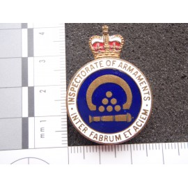 Inspectorate of Armanents Lapel Badge