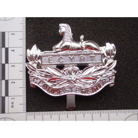 Anodised Gloucestershire Regt Cap Badge