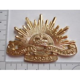 Australian Rising Sun Hat/Cap Badge