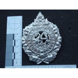 Anodised Argyll and Sutherland Highlanders Cap Badge