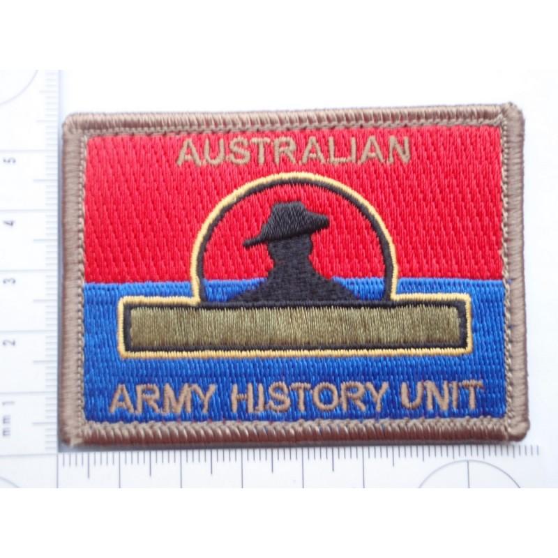 Australian Army History Unit Colour Patch Gradia