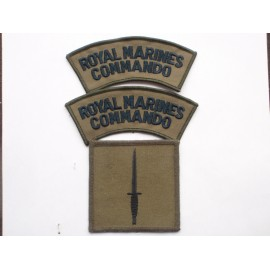 Royal Marines Commando Subdued Insignia