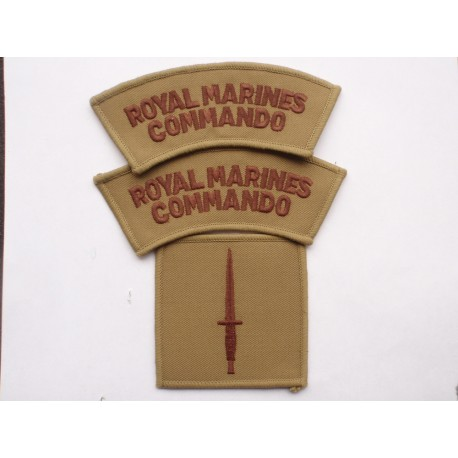 Desert Issue Royal Marines Commando Insignia