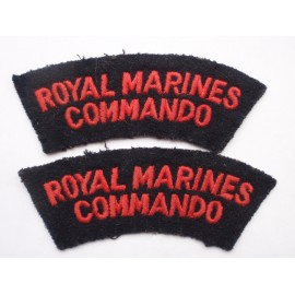 Royal Marines Commando Shoulder Titles
