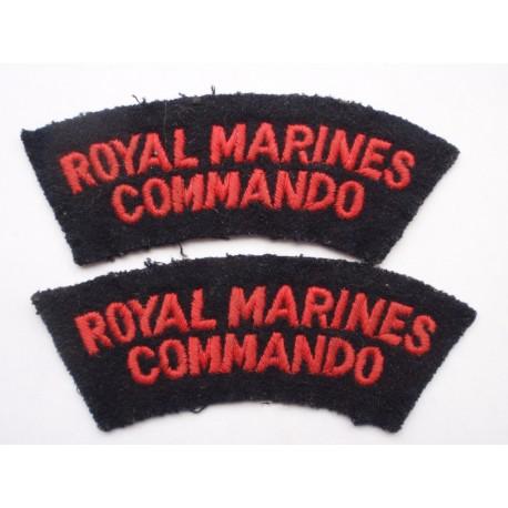Royal Marines Commando Shoulder Titles