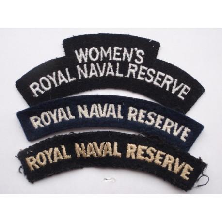 Royal Naval Reserve Titles