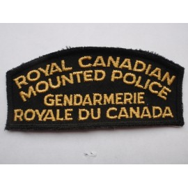 RCMP Shoulder Title