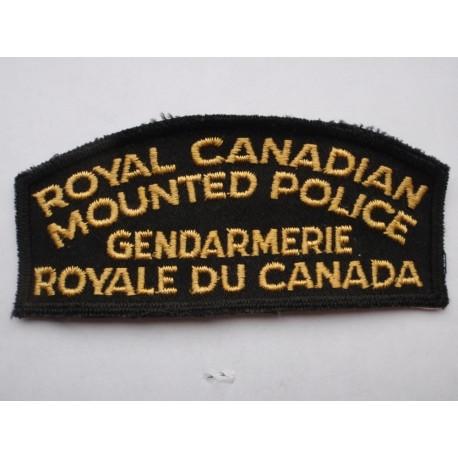 RCMP Shoulder Title