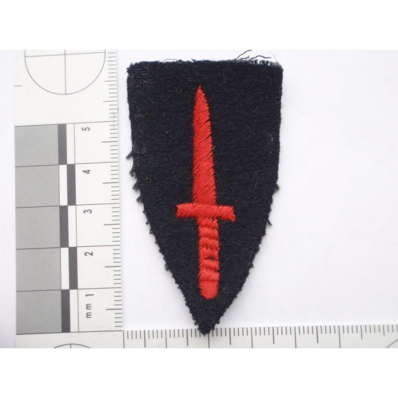 Royal Marines Commando Dagger Sleeve Badge Gradia