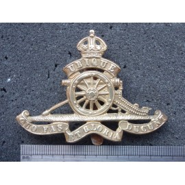 WW1/2 Royal Artillery OR's Cap Badge