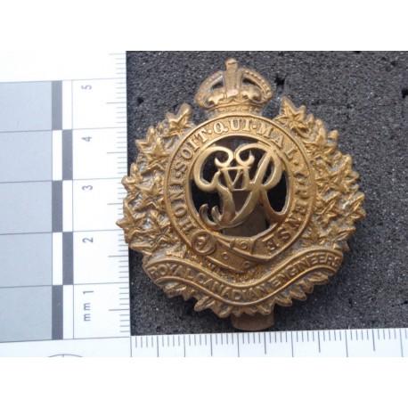 WW2 Royal Canadian Engineer OR's Cap Badge