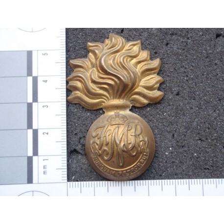WW2 Canadian Les Fusiliers Mont Royal Cap Badge