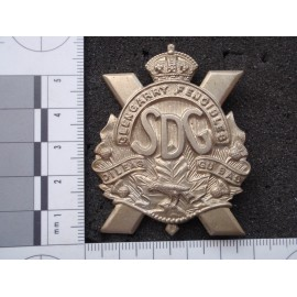 WW2 The Stormont Dundas & Glengarry Highlanders Cap Badge