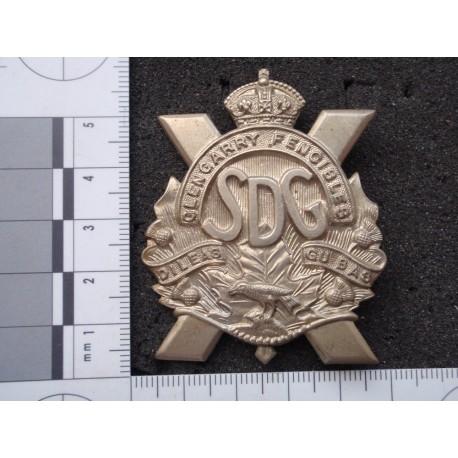 WW2 The Stormont Dundas & Glengarry Highlanders Cap Badge