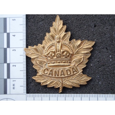 WW2 'CANADA' General Service Cap Badge