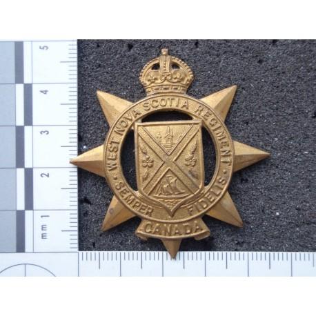 WW2 The West Nova Scotia Regt Cap Badge