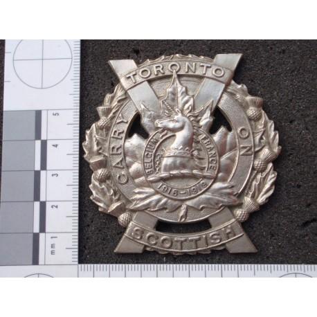 WW2 The Toronto Scottish Regt Glengarry Badge