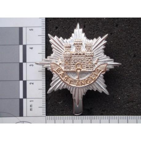 East Anglian Brigade Regt Anodised Cap Badge