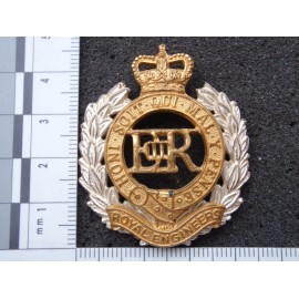 Royal Engineers Officers Cap/Beret Badge