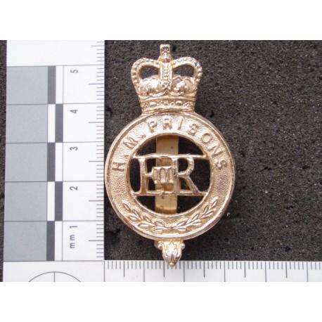 H.M.Prisons Anodised Cap Badge