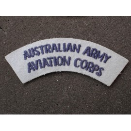 Australian Army Aviation Corps Shoulder Title